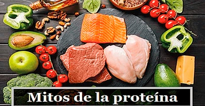 Imagen 5 mitos de la proteína