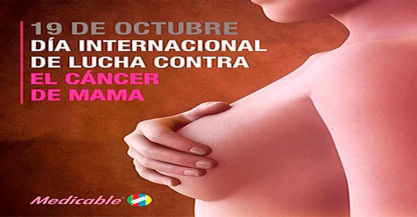 Imagen 19 de octubre, Día Internacional de lucha contra el Cáncer de Mama