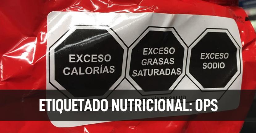 Imagen Etiquetado Nutricional: OPS