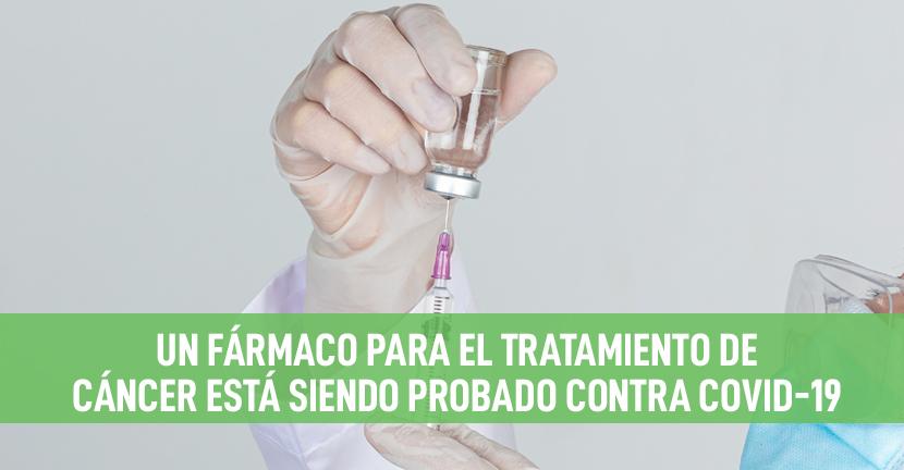 Imagen Un fármaco para el tratamiento de cáncer está siendo probado contra Covid-19