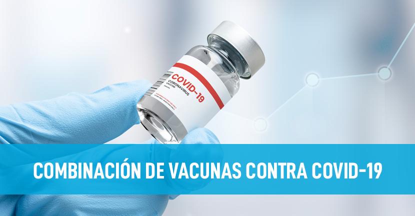 Imagen Combinación de vacunas contra Covid-19