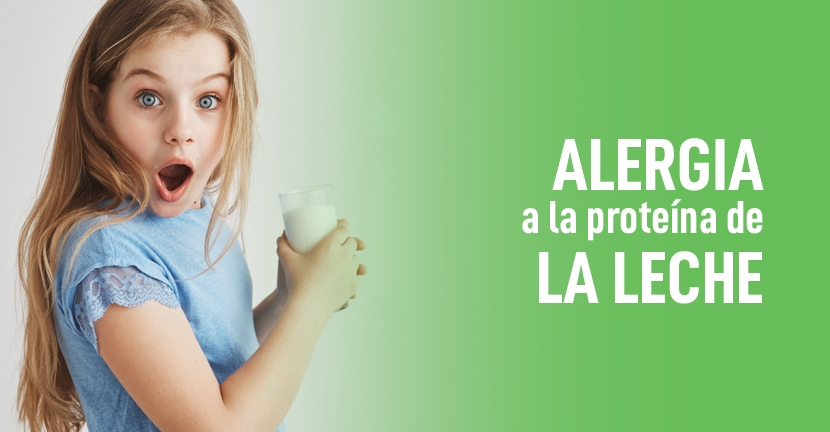 Imagen Alergia a la proteína de la leche