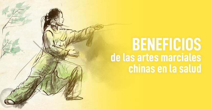 Imagen Beneficios de las artes marciales chinas en la salud