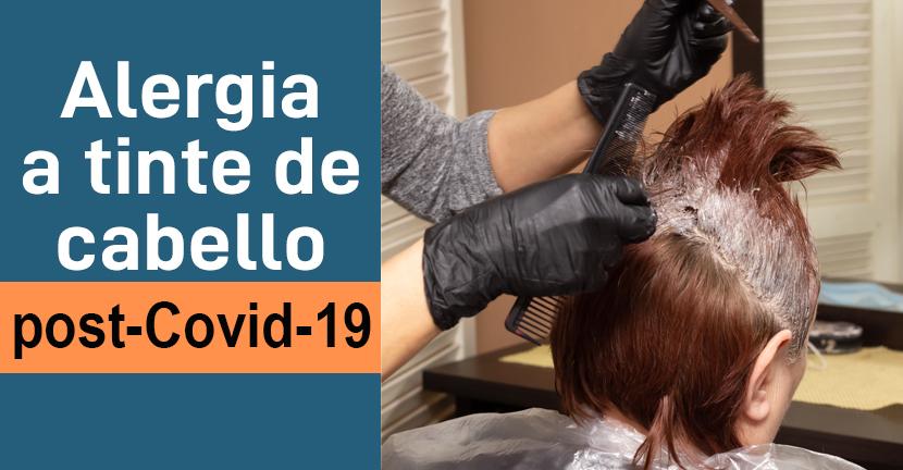 Imagen Alergia a tinte de cabello post-Covid-19