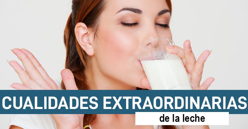 Imagen Cualidades extraordinarias de la leche