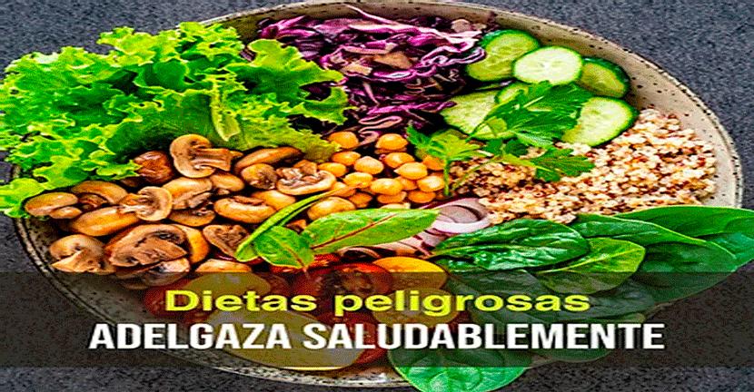 Imagen Las dietas son peligrosas Adelgaza saludablemente