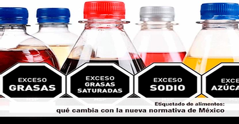 Imagen Nuevo etiquetado en alimentos y bebidas.