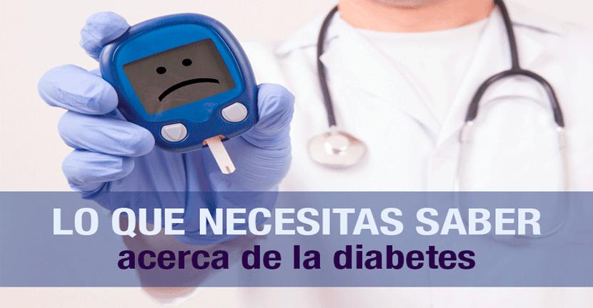 Imagen Lo que necesitas saber acerca de la diabetes