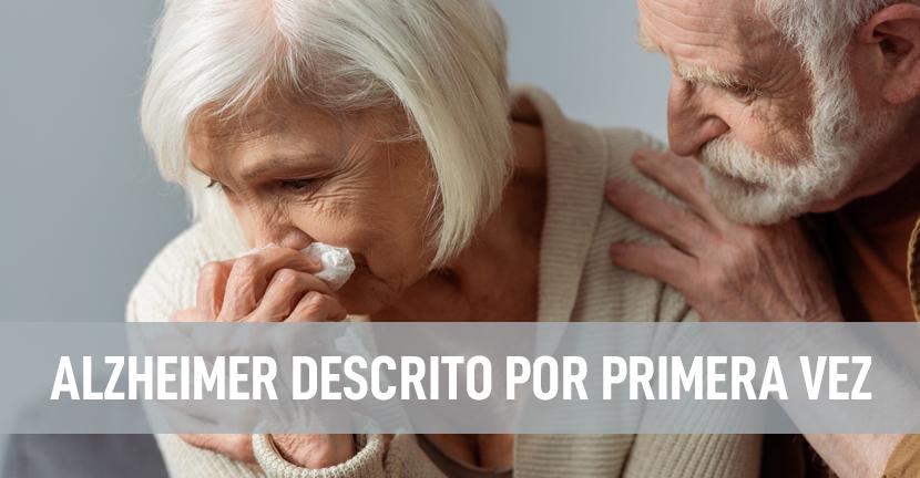 Imagen Alzheimer descrito por primera vez