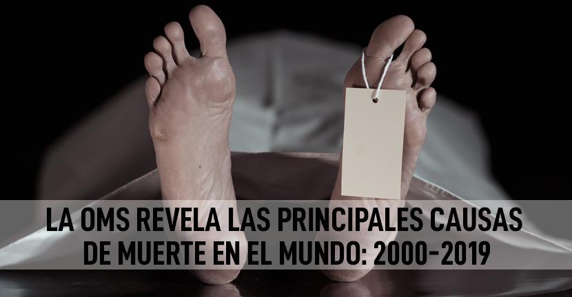 Imagen La OMS revela las principales causas de muerte en el mundo: 2000-2019