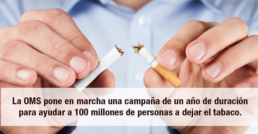 Imagen Dejar tabaco OMS