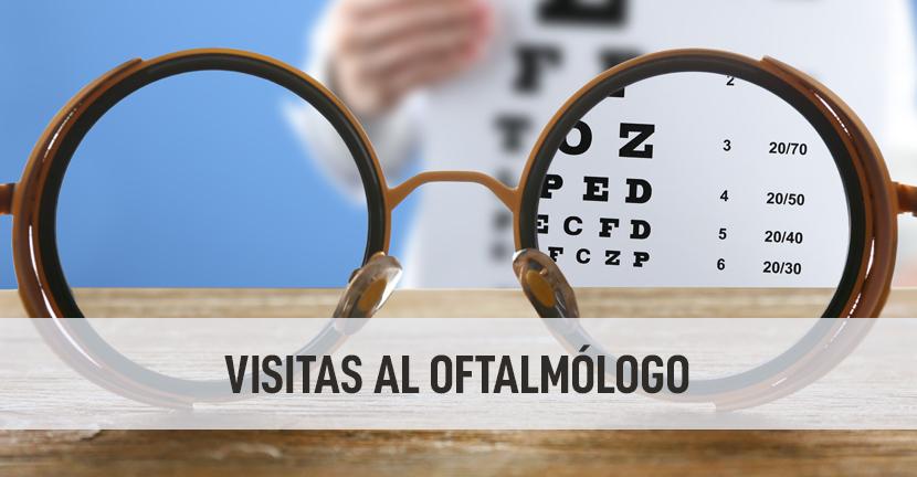 Imagen Visitas al oftalmólogo