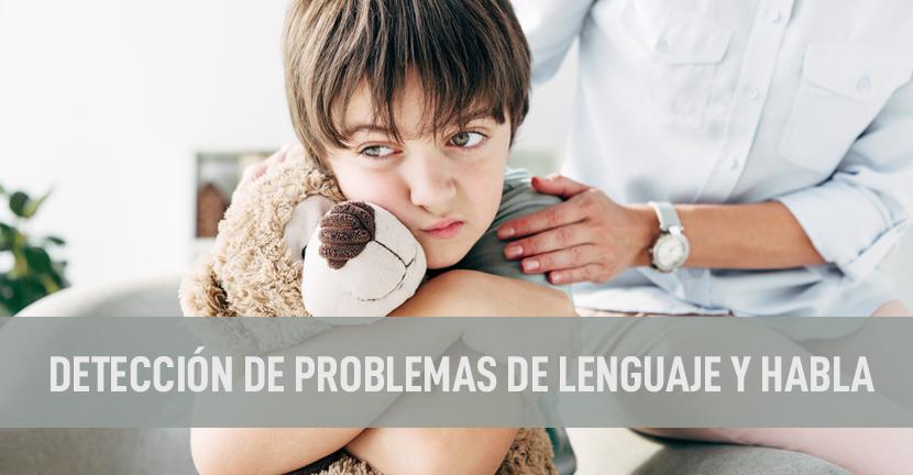 Imagen Detección de problemas de lenguaje y habla