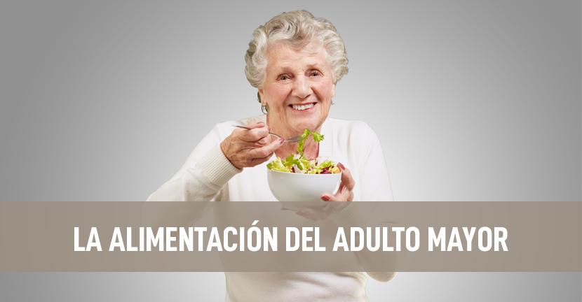 Imagen La alimentación del adulto mayor