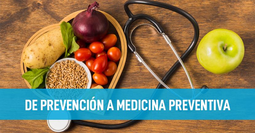 Imagen De Prevención a Medicina Preventiva