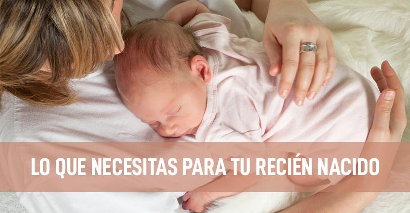 Imagen Lo que necesitas para tu recién nacido