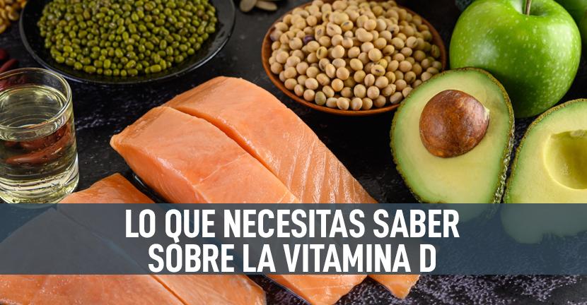 Imagen Lo que necesitas saber sobre la vitamina D