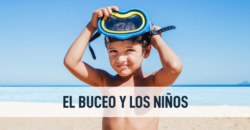 Imagen El buceo y los niños