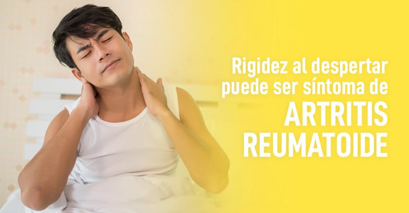 Imagen Rigidez al despertar puede ser síntoma de Artritis Reumatoide.