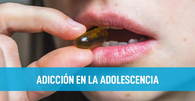 Imagen Adicción en la adolescencia
