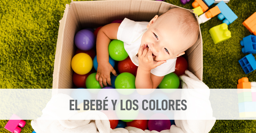 Imagen El bebé y los colores