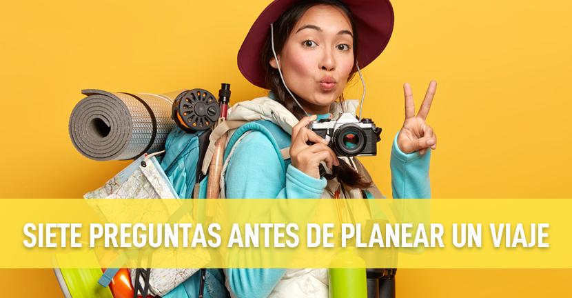 Imagen Siete preguntas antes de planear un viaje