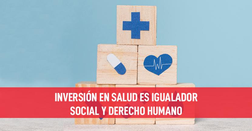 Imagen Inversión en salud es igualador social y derecho humano