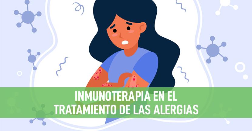 Imagen Inmunoterapia en el tratamiento de las alergias