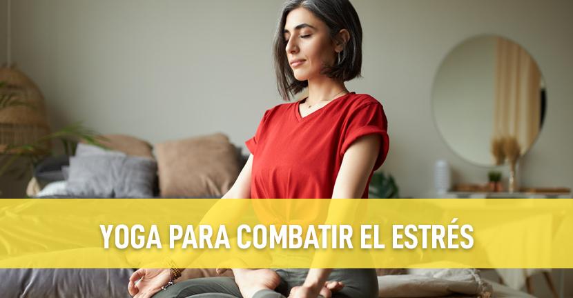 Imagen Yoga para combatir el estrés
