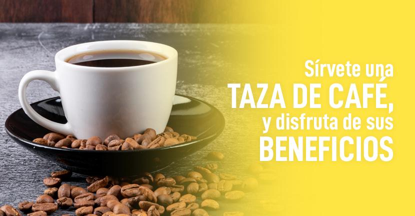 Imagen Sírvete una taza de café, y disfruta de sus beneficios