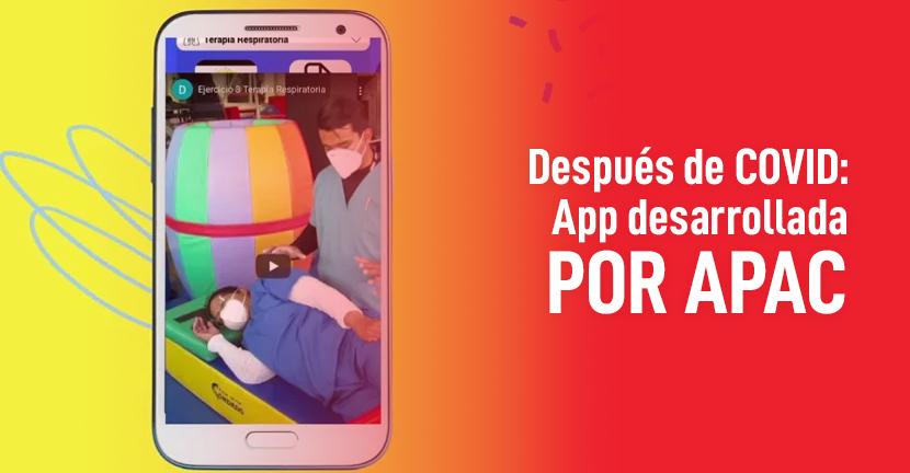Imagen Después de COVID: App desarrollada por APAC