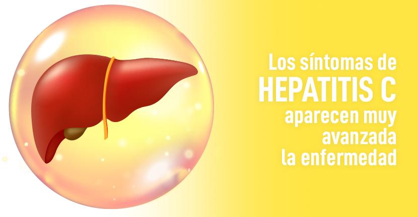 Imagen Los síntomas de hepatitis C aparecen muy avanzada la enfermedad