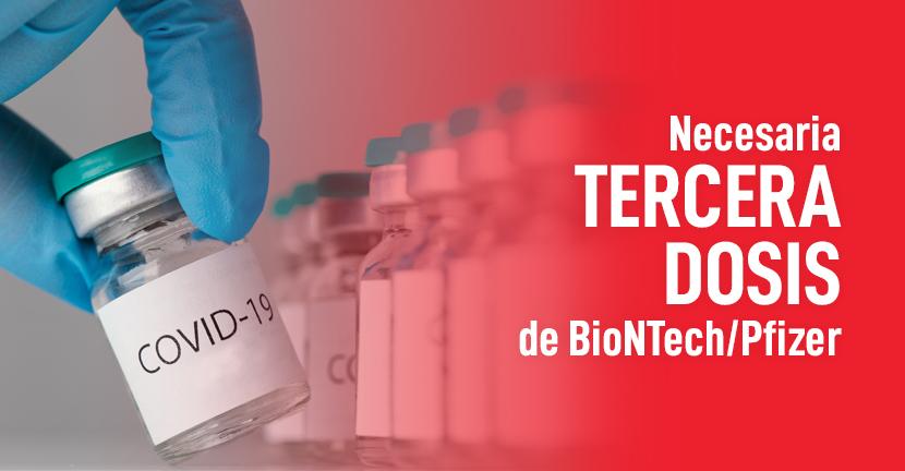 Imagen Necesaria tercera dosis de vacuna de BioNTech/Pfizer