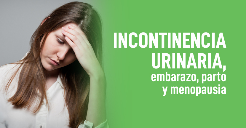Imagen Incontinencia urinaria, embarazo, parto y menopausia