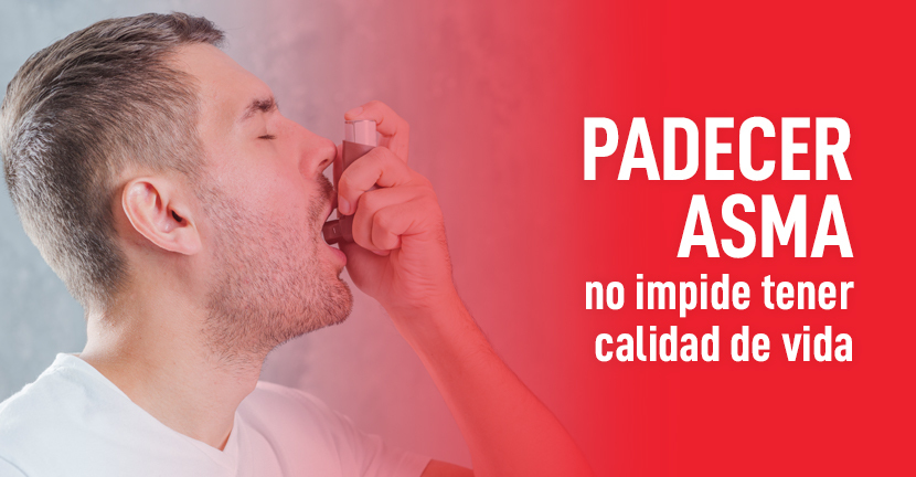 Imagen del artículo Padecer asma no impide tener calidad de vida