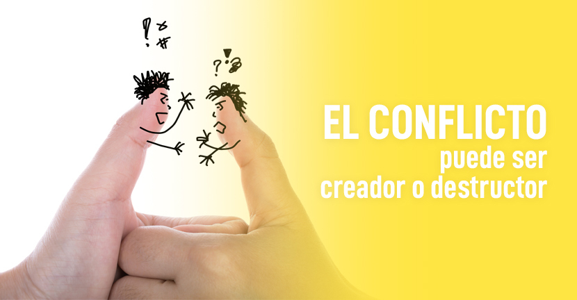 Imagen El conflicto puede ser creador o destructor