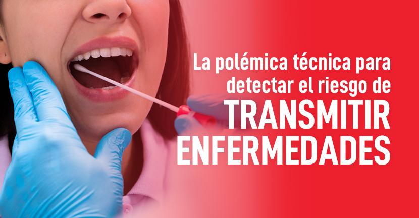 Imagen La polémica técnica para detectar el riesgo de transmitir enfermedades
