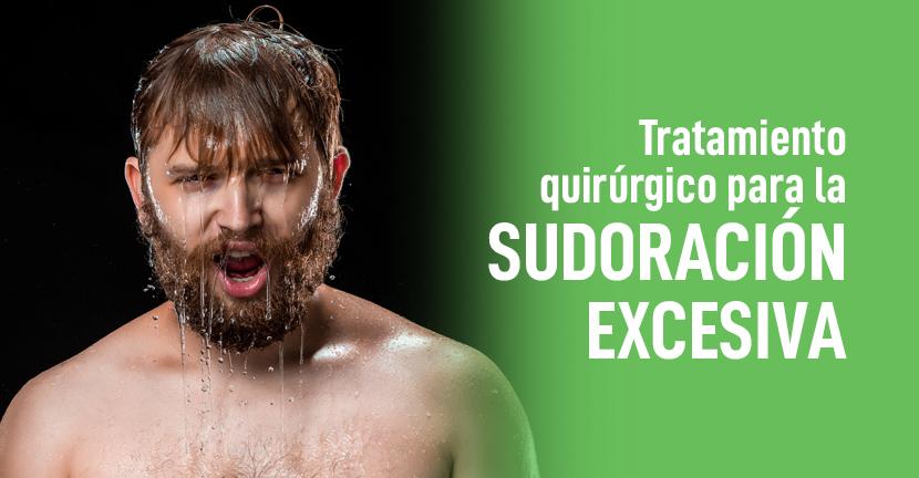 Imagen Tratamiento quirúrgico para la sudoración excesiva