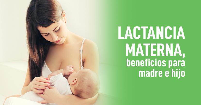 Imagen Lactancia materna, beneficios para madre e hijo