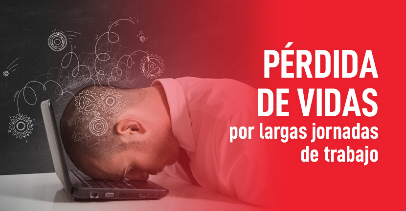 Imagen del artículo Pérdida de vidas por largas jornadas de trabajo