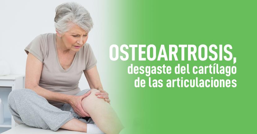 Imagen Osteoartrosis, desgaste del cartílago de las articulaciones