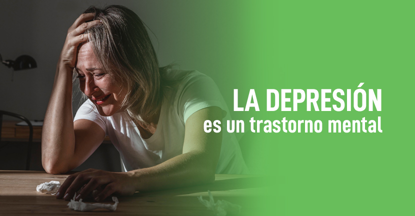 Imagen La depresión es un trastorno mental