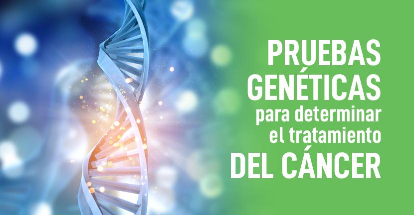 Imagen Pruebas genéticas para determinar el tratamiento del cáncer