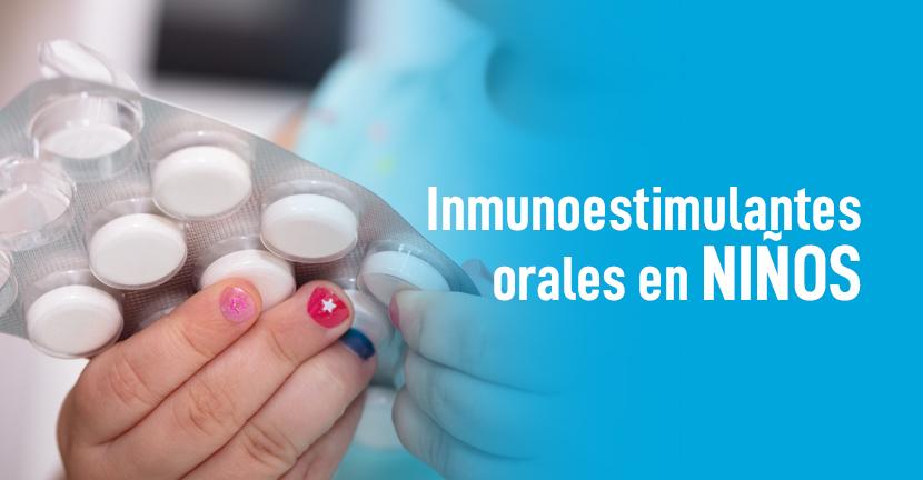 Imagen Inmunoestimulantes orales en niños