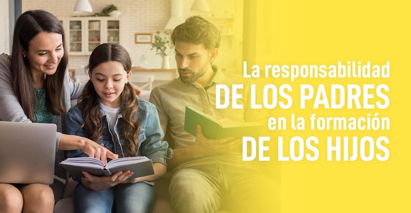 Imagen La responsabilidad de los padres en la formación de los hijos