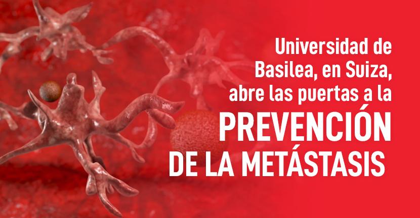 Imagen Universidad de Basilea, en Suiza, abre las puertas a la prevención de la metástasis