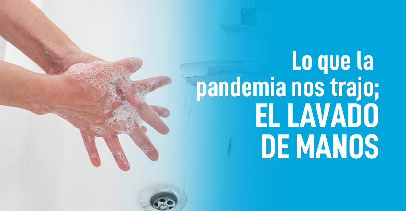 Imagen Lo que la pandemia nos trajo el lavado de manos