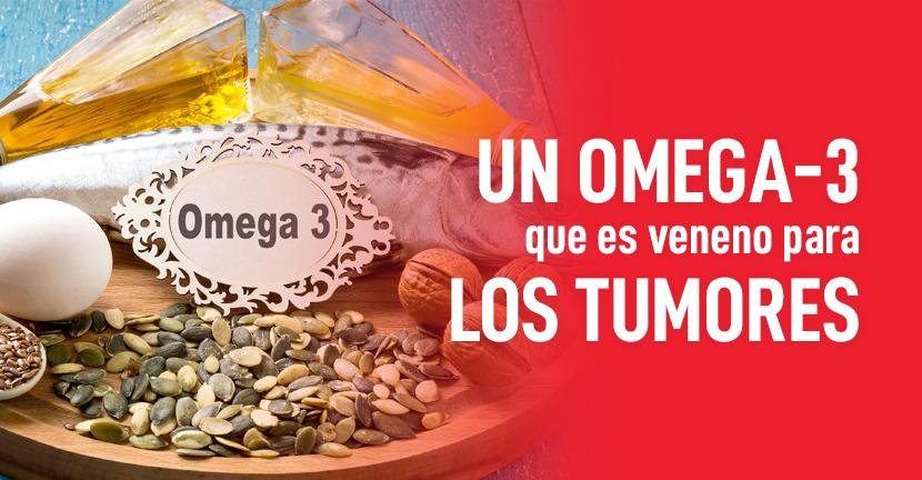 Imagen Un omega-3 que es veneno para los tumores