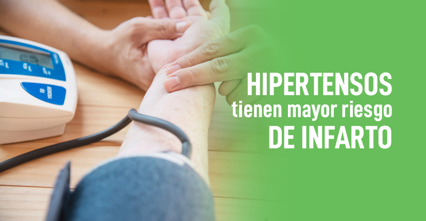 Imagen Hipertensos tienen mayor riesgo de infarto