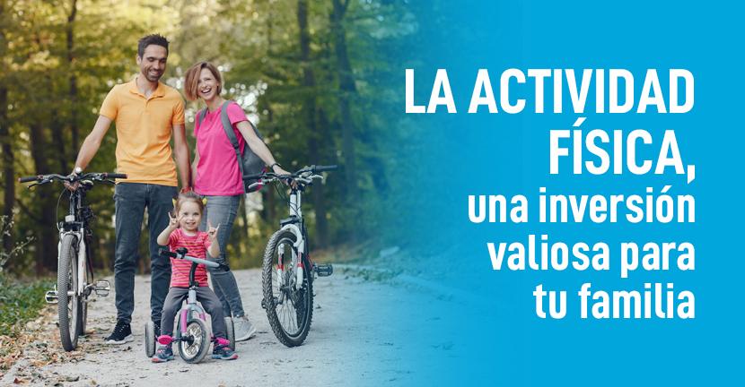 Imagen La actividad física, una inversión valiosa para tu familia